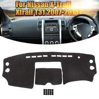 Dashmat Dashboard Dash Mat Protector Pad For Nissan X-Trail Xtrail T31 2008-2013