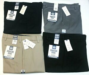 Men's Dockers Signature Khaki Classic Fit Lux Cotton Stretch Flex Comfort Pants