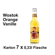 Wostok Orange Vanille 7 Flaschen je 0,33l