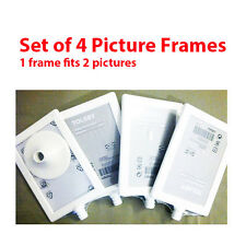 Ikea TOLSBY 4-Pk Picture Frame Displays 2 Photo in One Frame White NEW FS