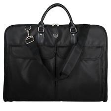 Garment Bag Waterproof Black Hanger Clamp Suit Cloth Storage Organizer Travel HQ