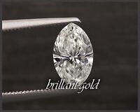 Natürlicher Diamant im Navette Schliff 0,29 ct mit Zertifikat, Top Wesselton