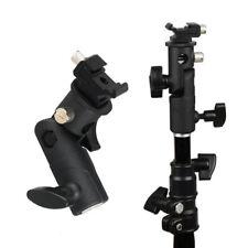 Flash Cold Shoe Umbrella Holder Swivel Bracket Mount Light Stand for DSLR Hot