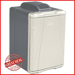 Portable Car Refrigerator Coleman 40qt Cooler 12v Travel Iceless Electric Fridge