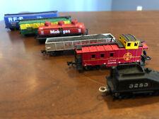 N Scale ATSF Caboose Train Car Railroad 6 pcs lot Bachmann & Life Like