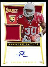 STEPFAN TAYLOR 2013 PANINI SELECT PRIZM AUTO JERSEY RC 15/99 *CARDINALS*