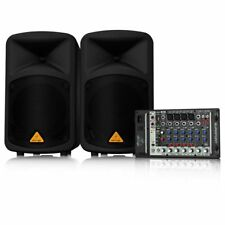 Behringer EPS500MP3 Europort Ultra-Compact 500W 8-Ch Portable PA Speaker System