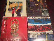 POLICE BRIAN ENO TOTO  DAVID BOWIE JAPAN AUDIOPHILE REPLICA RARE OBI 4CD SPECIAL