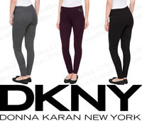 Women's DKNY Jeans Mid Rise Pull On Silhouette Stretch Ponte Pants Variety NWT