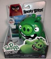 NIB Rovio Angry Birds Movie The Pigs Tricky Talking Pig Toy figure Spin Master