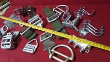 Tie down Buckles And Other Hardware Parts 17 pc lot