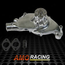 Aluminum Polished High Volume Hv Short Water Pump Fits Bbc Chevy 396 427 454