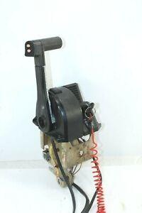 OMC Evinrude Johnson Binnacle Control Tilt Trim Throttle Shifter Top Mount