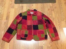 Women's David Brooks Multi Color Jacket /Blazer Size Medium (M)