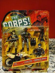 THE CORPS! Collectors Edition FOX FLASH FIRE GUNNER O'GRADY Lanard Toys RARE