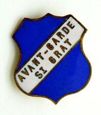 Spilla Avant-Garde St. Grat cm 2,3 x 2