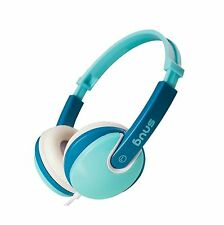 Snug Plug n Play Kids Headphones for Children DJ Style (Turquoi... Free Shipping