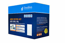 Donaldson 4WD AIR OIL FUEL FILTER KIT MITSUBISHI PAJERO TD 4M41 3.2lt NS - NX
