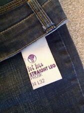 Fat Face Denim Straight Leg Jeans for Women