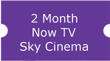 2 MONTHS SKY MOVIE / CINEMA PASS FOR NOW TV BOX OR ONLINE ACCOUNT