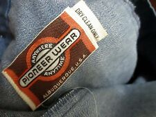 34x32 True Vtg 70s Mens Pioneer Wear Rarest Denim Western Bootcut Boho Jeans
