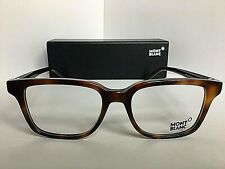 New MONTBLANC MB 864  052 52mm Tortoise Rx Men's Eyeglasses Frame Italy