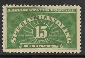 2v1378 Scott QE2 US Stamp 1928-55 15c Special Handling Used