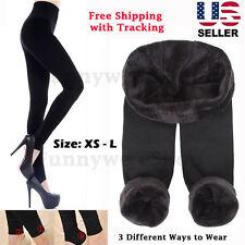 Premium Women's Thermal Thick Warm Fleece lined Fur Winter Tight Leggings Pants