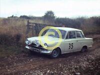 Photo MK1 Cortina Rally Car Circa 1973 ? Tour of Lincs Moss Tyres or Dukeries ?