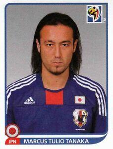 Panini Sticker Fußball WM 2010 Nr. 377 Marcus Tulio Tanaka Japan Bild NEUWARE