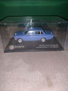 Volvo 144S 1967 Blue Diecast 1:43 Triple9 Premium 1008 Pieces Mint