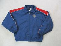 VINTAGE Puma Florida Panthers Jacket Adult Medium Blue Red NHL Hockey Coat Mens