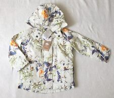 ***BNWT Next girls Floral padded coated cotton coat jacket 3-4 years***