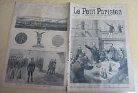 Le petit parisien 1893 245 Escadre russe Empereur Nicolas 1er