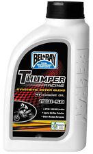 4 Liter Bottle Bel-Ray Thumper Racing Synthetic Ester Blend 15w50 4T Engine Oil