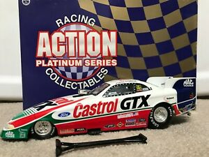 ACTION 1/24 1998 JOHN FORCE CASTROL GTX NHRA FUNNY CAR DIECAST