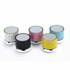 ALTAVOZ BLUETOOTH MP3 USB REDONDO MUSICA PORTATIL RADIO FM ALTAVOCES MANOS LIBRE