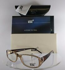 New Authentic MONT Blanc MB 303 045 Eyeglasses Brown Tortoise MB303 Frame