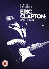 Eric Clapton: A Life in 12 Bars DVD (2018) Lili Fini Zanuck ***NEW***