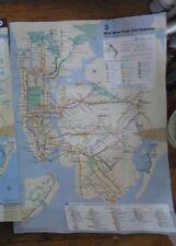 Mta New York City Transit subway Large Print Edition 2017