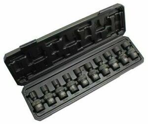 Swivel Impact Socket Set 3/8 Inch Drive Shallow 10 pc US PRO Industrial 3471