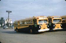 Suburban Transit Corp GM Old Look Bus Kodachrome original Kodak Slide