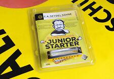 KIDS LEARN HARMONICA! Seydel Junior Starter Kit - Harp, Booklet, & Video Lessons