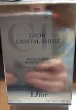 Dior Cristal Shine Lip Balm & Gloss Jewel #002, Bnib, Limited Edition, Htf