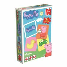 Peppa Pig Memo / Memory Card Game Age 3 +