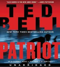 PATRIOT (Alex Hawke) unabridged audio book on CD by TED BELL (14 CDs / 16.5 Hrs)