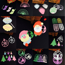 1pcs DIY Christmas Style Cutting Dies Stencil Metal Scrapbooking Embossing Craft