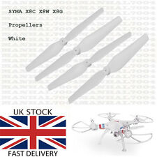 Syma X8C X8W X8G Propellers Blades (white) - Spare Parts for Quadcopter Drone