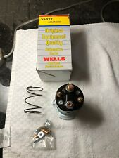 NOS Wells Starter Solenoid 1982 Chevrolet 4 Cyl 6 Cyl V8 GM 1114515 D983