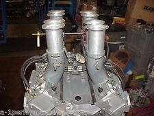 Hilborn 3 Piece Featherweight Magnesium Fuel Injection &Stacks SB Chevy 327C8-W1